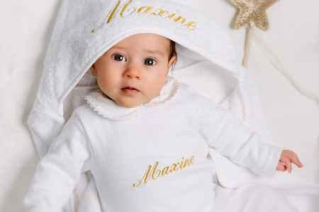 Babypakje gepersonaliseerd met naam
