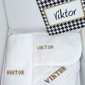Gepersonaliseerde geschenkdoos Viktor